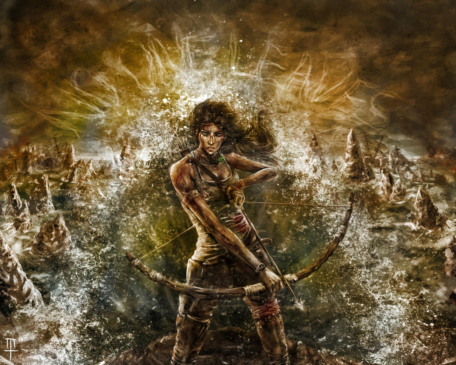Lara's Burden by MarcusThomas