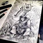 Daily Sketch #3 Avatar Wan