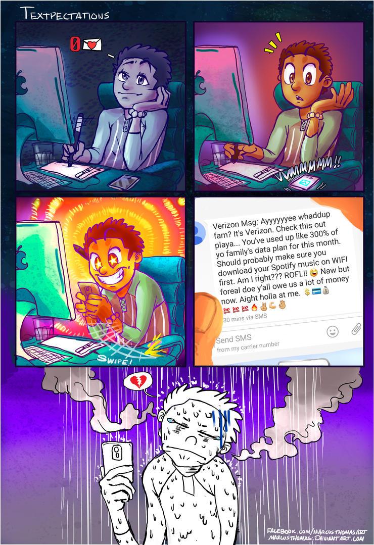 Textpectations by MarcusThomas