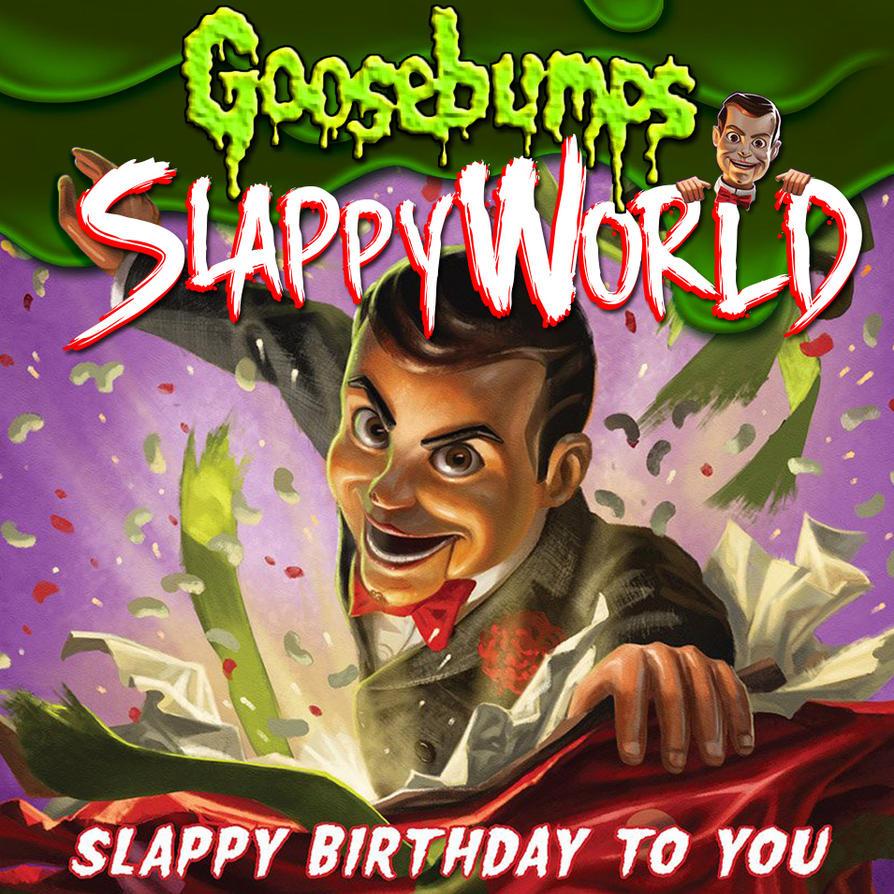 Goosebumps slappyworld ad by thedare22 on deviantart - Goosebumps wallpaper ...