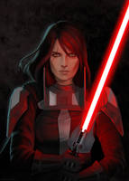 Darth Rannah by gravity-zero