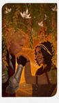 Romance Card - Cullen and Evelyn