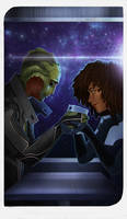 Romance Card - Thane and Rosario