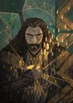 Thorin, King Under the Mountain by gravity-zero
