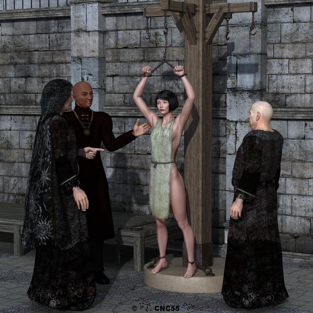 Elf slave market hentai clip