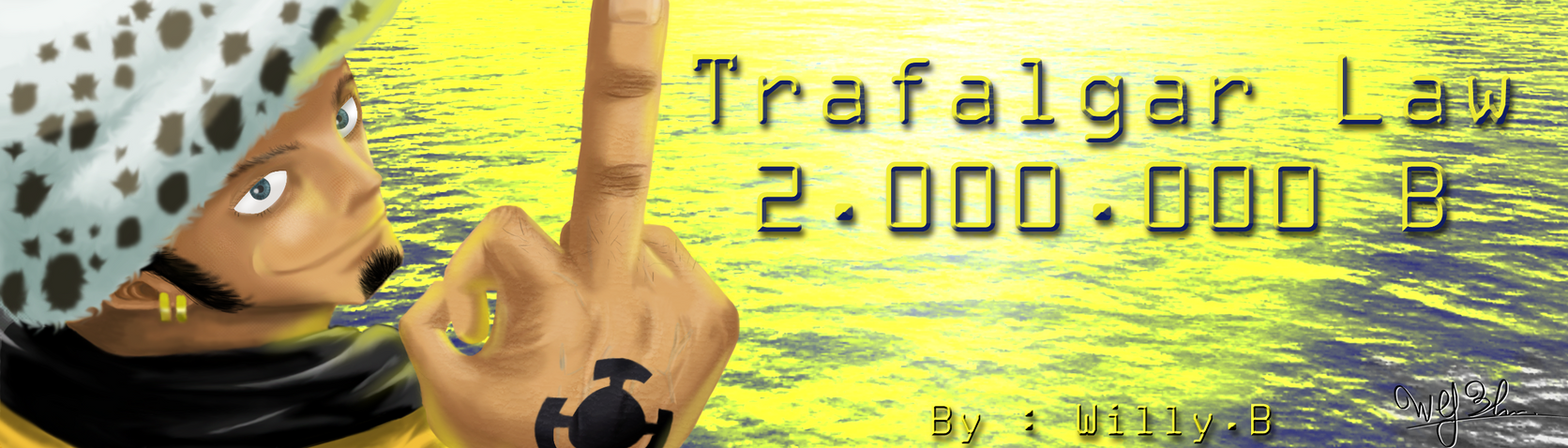 Trafalgar GFX 2 by akatsuki06fr