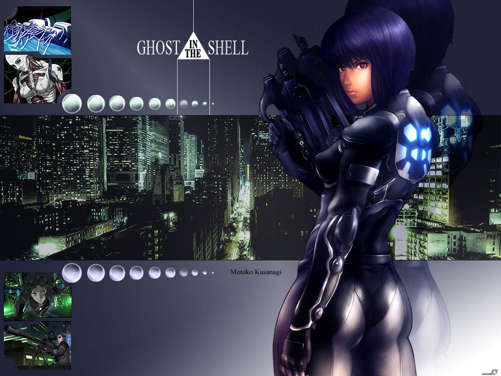 Ghost In The Shell By Aca985 On Deviantart