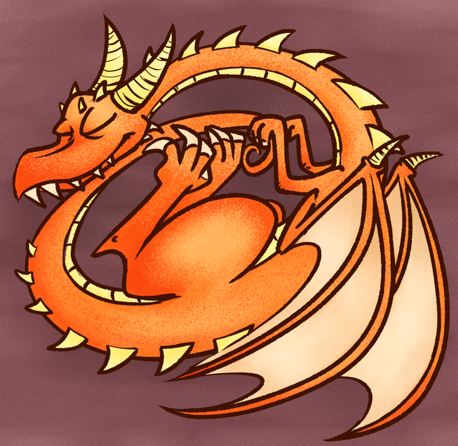 Sleepy Dragon by Altermentality