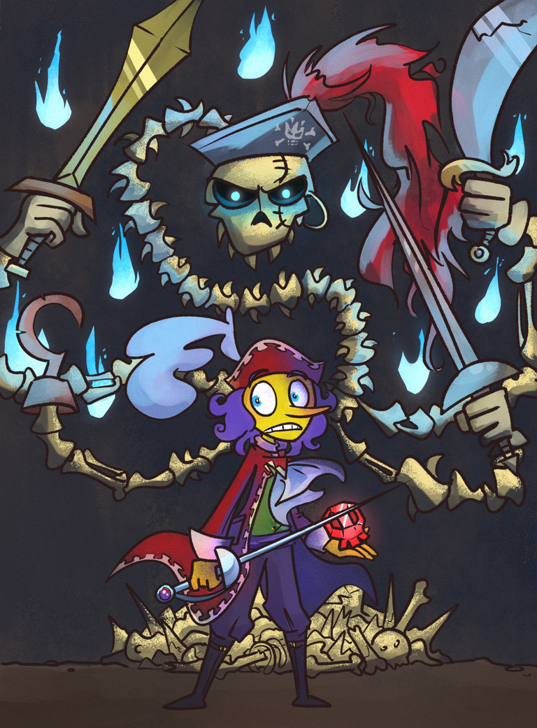 Fulfill your destiny, young merchant! [PM:TTYD] by Altermentality