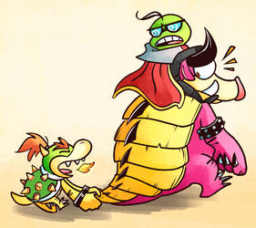 Bowser Junior's Journey by Altermentality