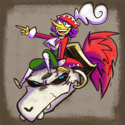 Flavio and Cortez [Paper Mario: TTYD] by Altermentality