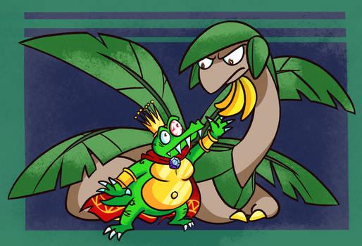 Banana Theft [DKC + Pokemon]