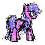 Scribble Pony