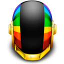 Daft Punk Helmet Icons by mineboy00