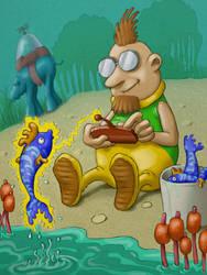 easy fishing by krigios