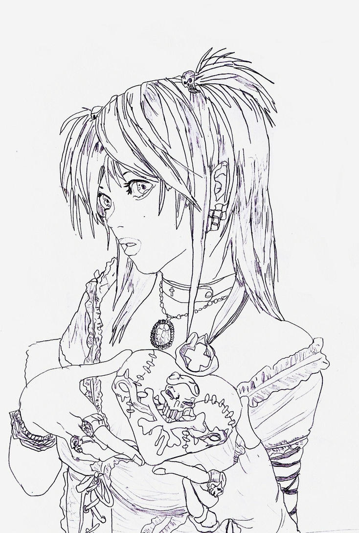 deathnote coloring pages - photo#42