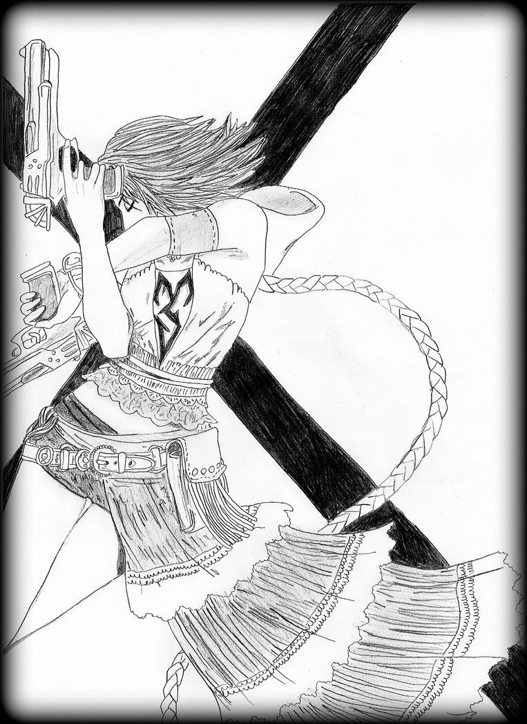 Yuna [Final Fantasy X-2] by Rosae94