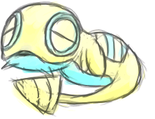 Dunsparce by BlazingCoral