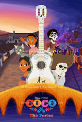 Coco: The Series (fake poster) by BlazingCoral