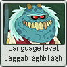 Garblovian Language Level Stamp by LanguageStampGuy