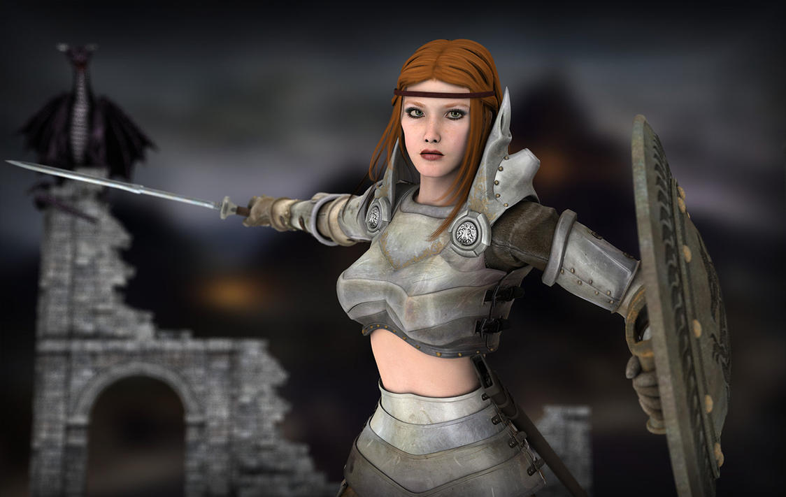 Dragon Age 2 - Aveline by 7Sins7