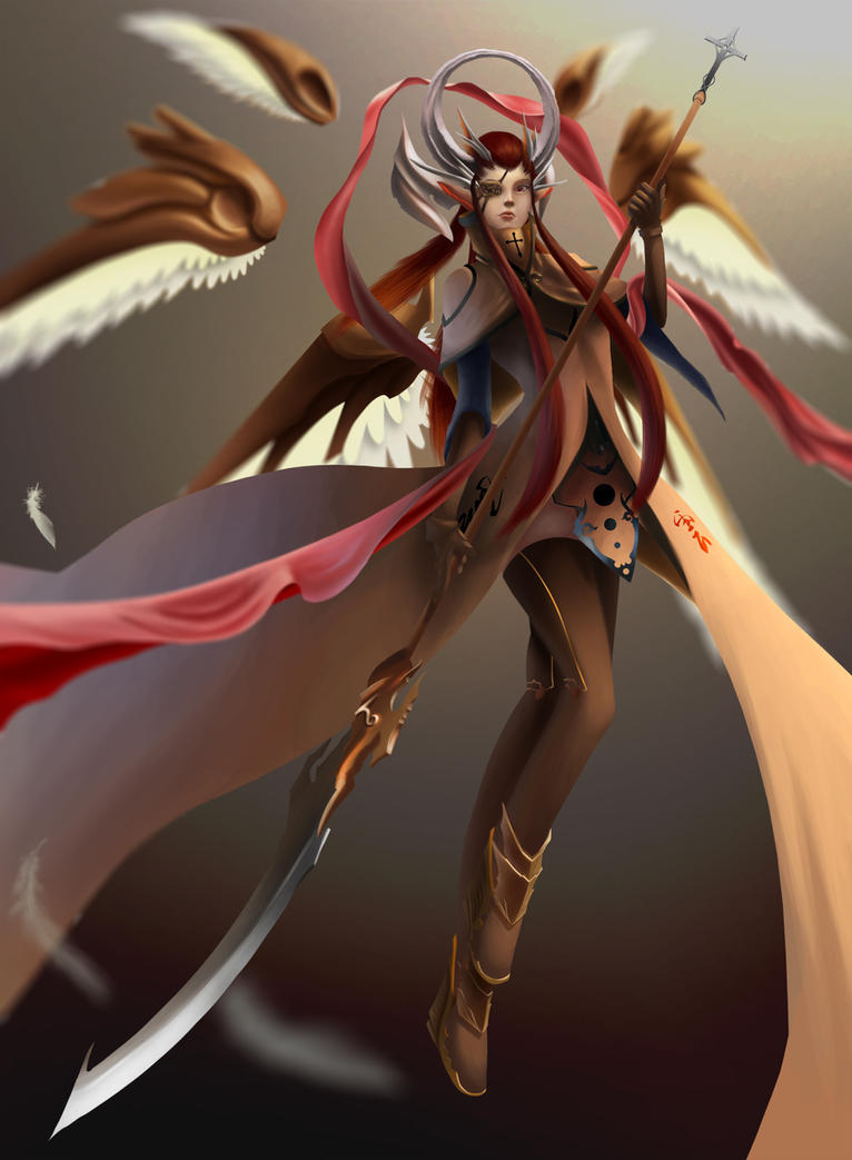 Angel Knight by ExoHazard
