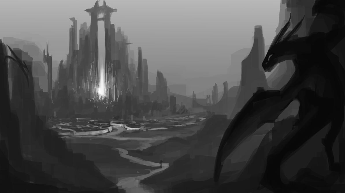 Dragon Valley by ExoHazard