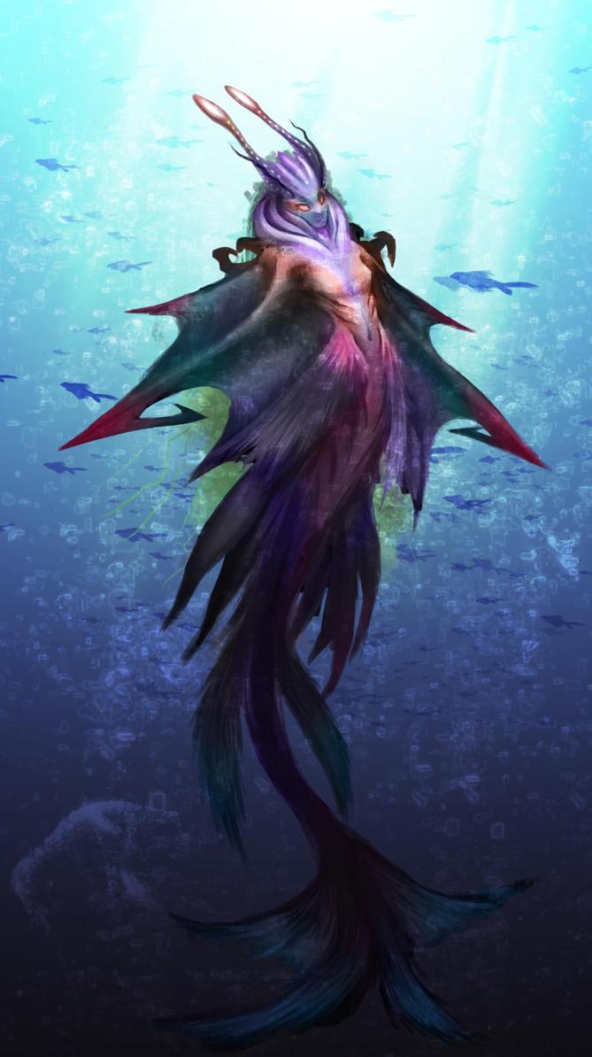 Mermaid by ExoHazard