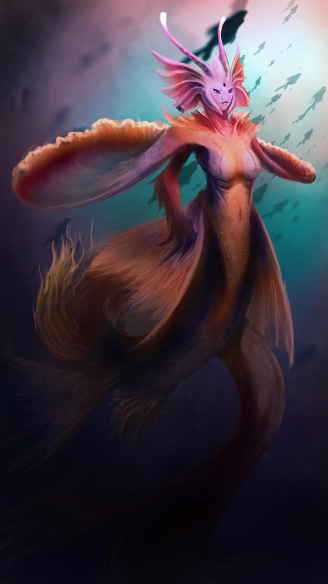 Mermaid 2 by ExoHazard