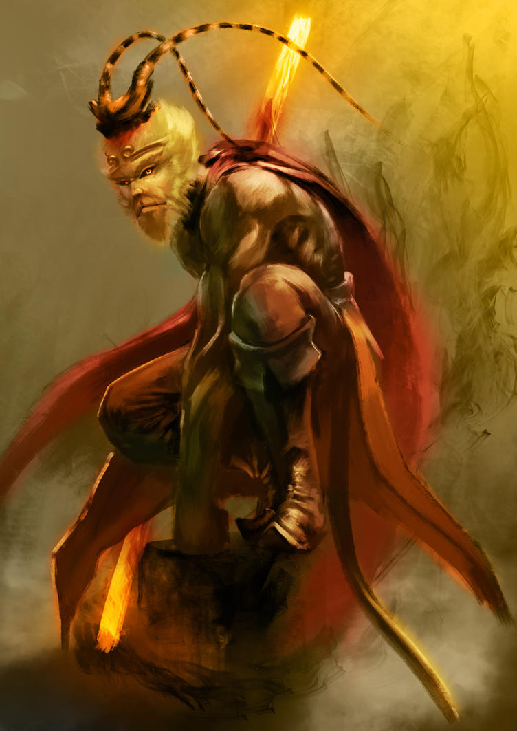 Monkey God by ExoHazard