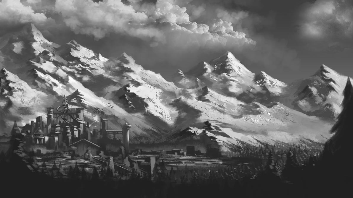 NZ mountains by ExoHazard
