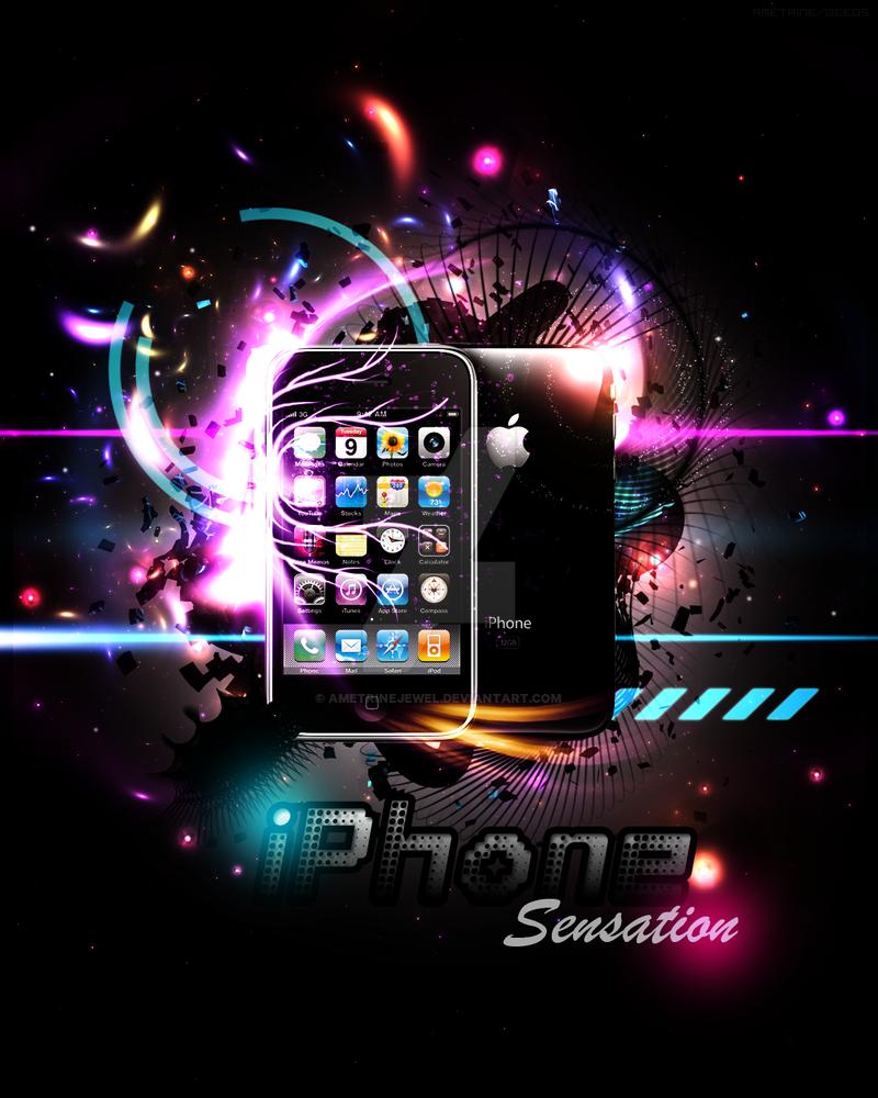 Iphone - Sensation by AmetrineJewel