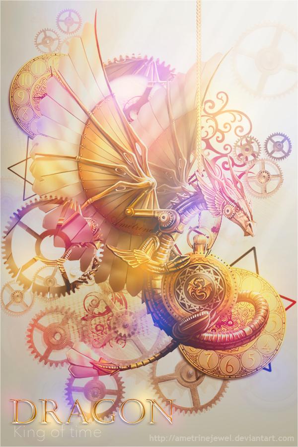 Dragon - King of time by AmetrineJewel