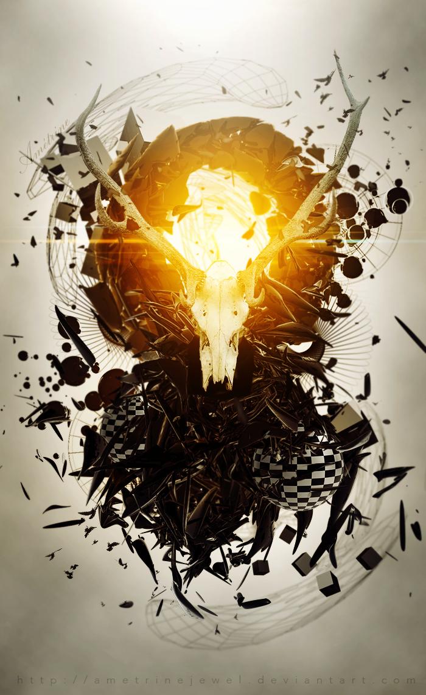 Deer's Death by AmetrineJewel