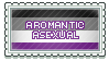 Aromantic Asexual Stamp 1 by MoonLover