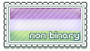 NonBinaryStamp1 by MoonLover