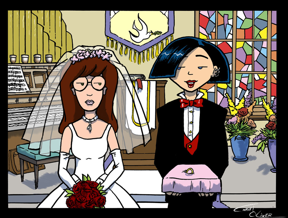 Daria And Jane At The Altar By Christo LHiver On DeviantArt Wallpaper
