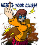 Angry toon : Velma Dinkley by Christo-LHiver
