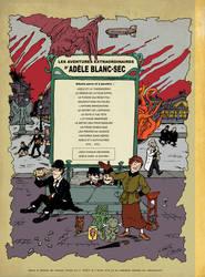 Adele Blanc-Sec meet Tintin 2/3 by Christo-LHiver
