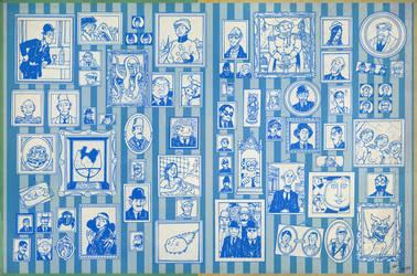 Adele Blanc-Sec meet Tintin 3/3 by Christo-LHiver