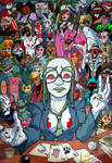 Autopsie the zombie magician and her dolls by Christo-LHiver