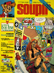 The Spirou magazine cover i want to see by Christo-LHiver