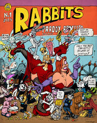 Rabbit parody of Arcade 1975 by Christo-LHiver
