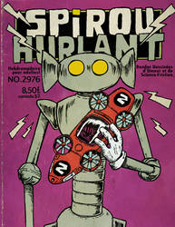 Spirou Hurlant by Christo-LHiver