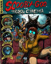 Scooby-Doo vs the Trash cinema by Christo-LHiver