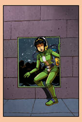 Yoko Tsuno as Major Fatal