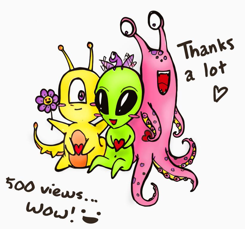 Cute Aliens by jessiejazz