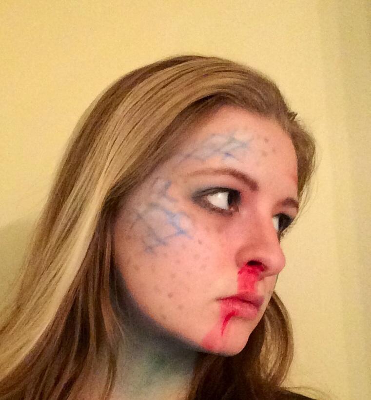 Breaking Bad Makeup: Blue Meth by KeziArtEternal