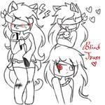She blind, She trust by PoofyFloofi