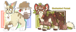 Adoptables Auction 12 ( Open ) - collab by asaki-feather-adopts